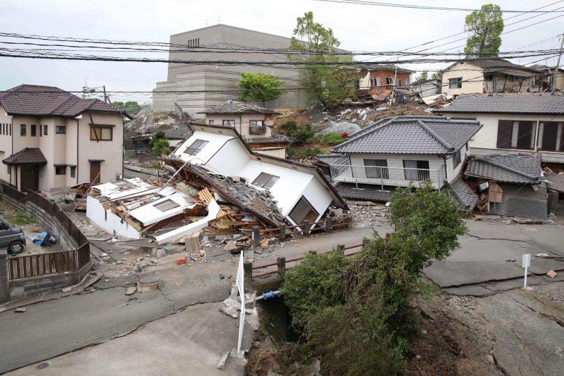 Terremoti in Giappone: la furia della natura. FOTO