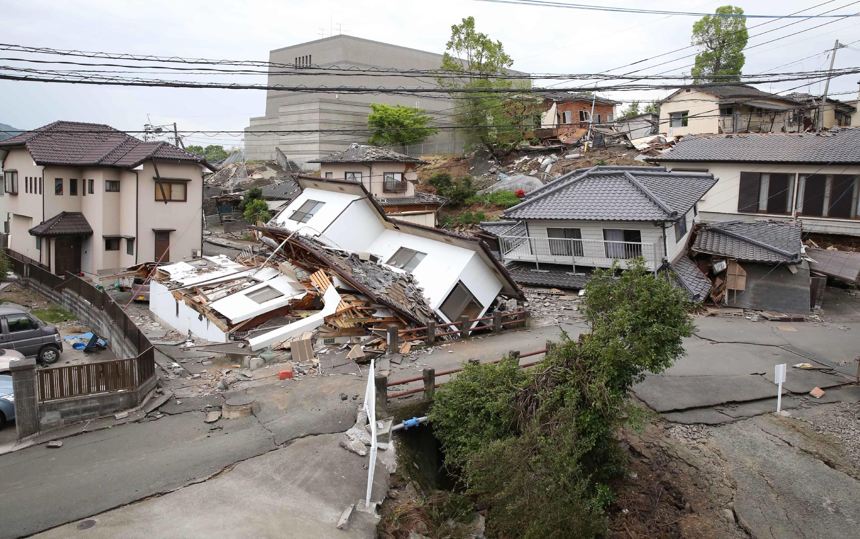 La potenza del terremoto in Giappone