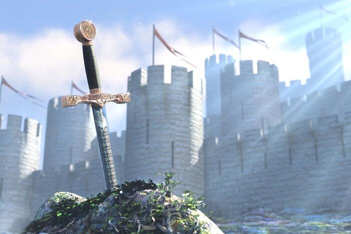 Sulla macchina del tempo: intervista immaginaria re Artù