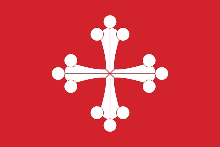 Bandiera della repubblica marinara di Pisa