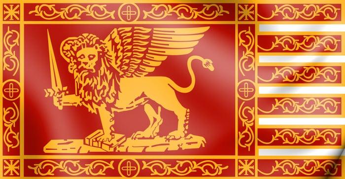 Bandiera della Repubblica marinara di Venezia