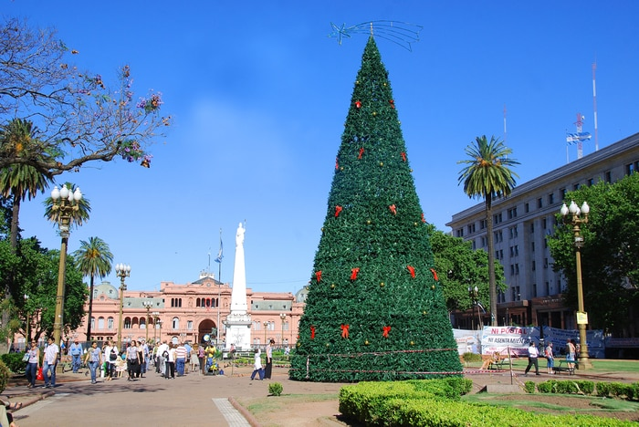 Natale in Sud America