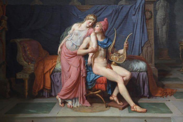 Elna e Paride (Iliade)
