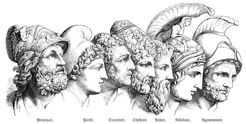 Iliade e Dei greci