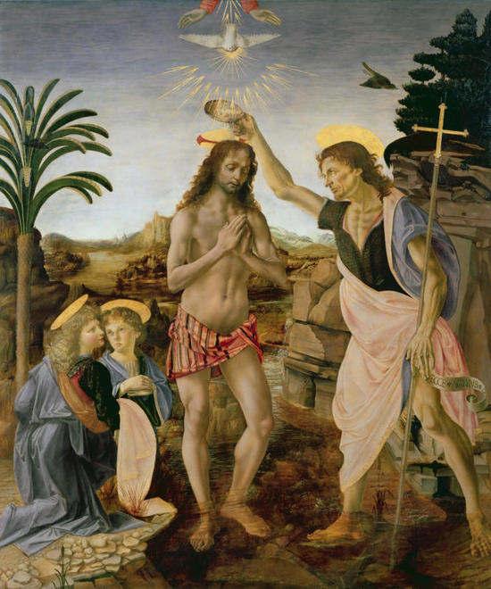 Ipa-Agencybattesimo di Cristo, di Leonardo da Vinci
