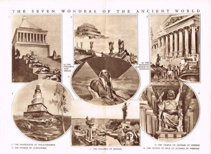 Le sette meraviglie del mondo antico