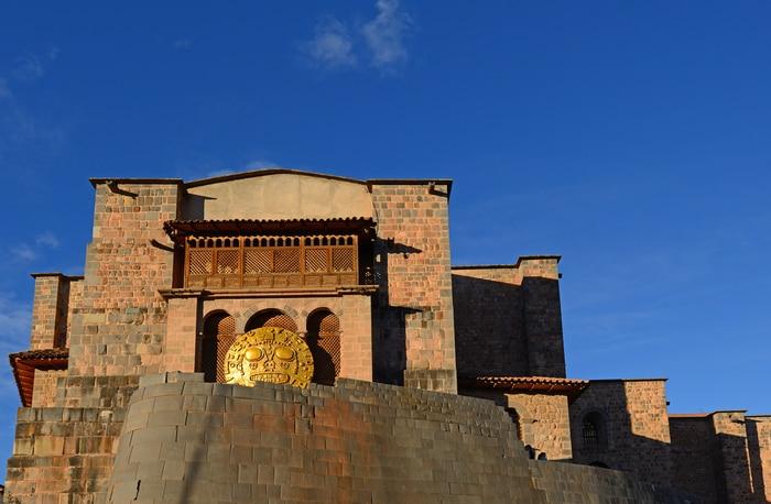 Tempio dedicato a Inti, il Dio del Sole, a Cusco.
