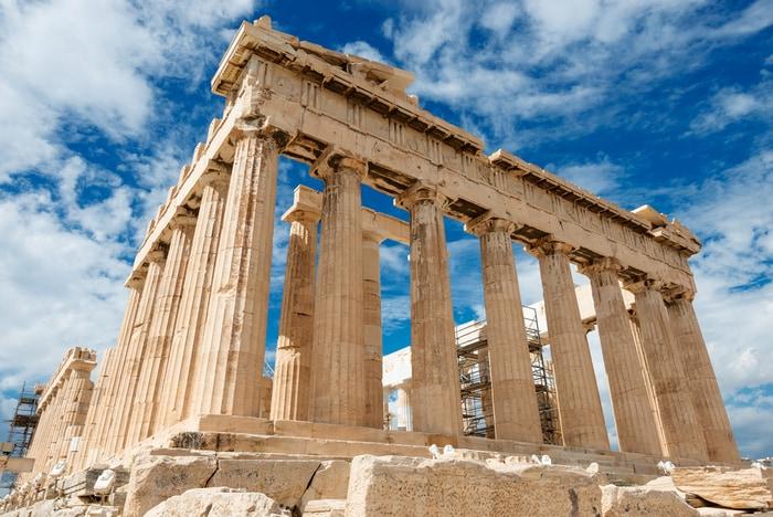 Il Partenone ad Atene
