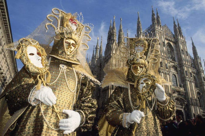 Carnevale Ambrosiano: data, maschere e leggende