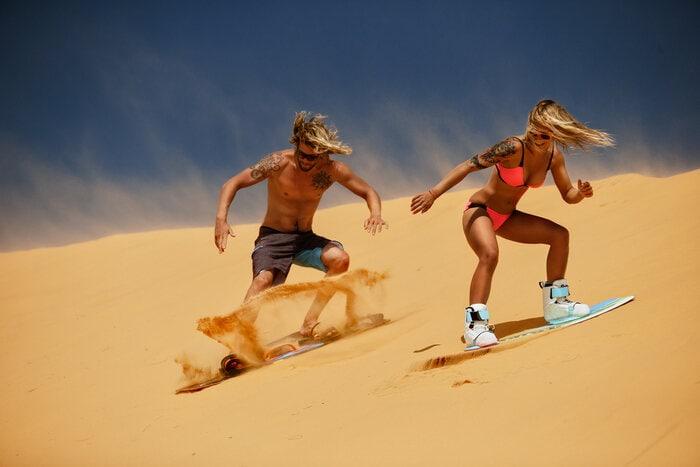 Quanti sport si praticano sulla sabbia?