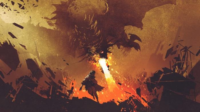 Junior reporter, il Prescelto, la spada elementale e il drago Ignis