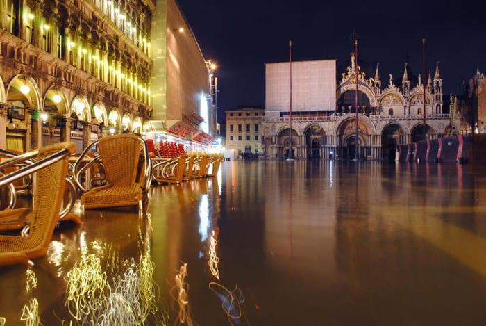 """Che cos'è """"l'acqua alta"""" di Venezia?"""