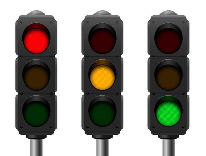 Perché i colori del semaforo sono rosso, giallo e verde?