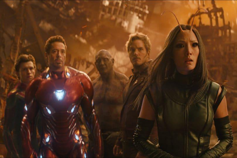 Avengers: infinity war. I supereroi al cinema insieme alle star italiane.