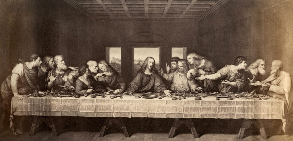 Leonardo da Vinci, L'ultima cena.