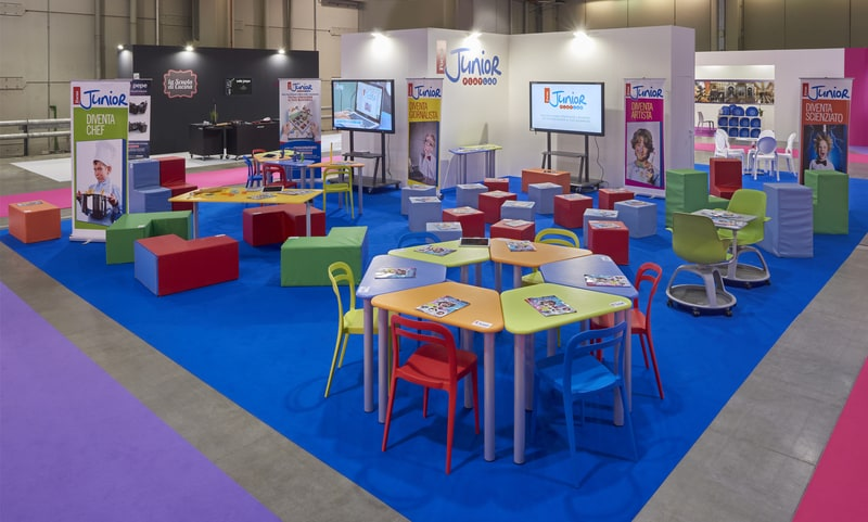 La ludoteca di Focus Junior all'Expo Franchising Napoli!