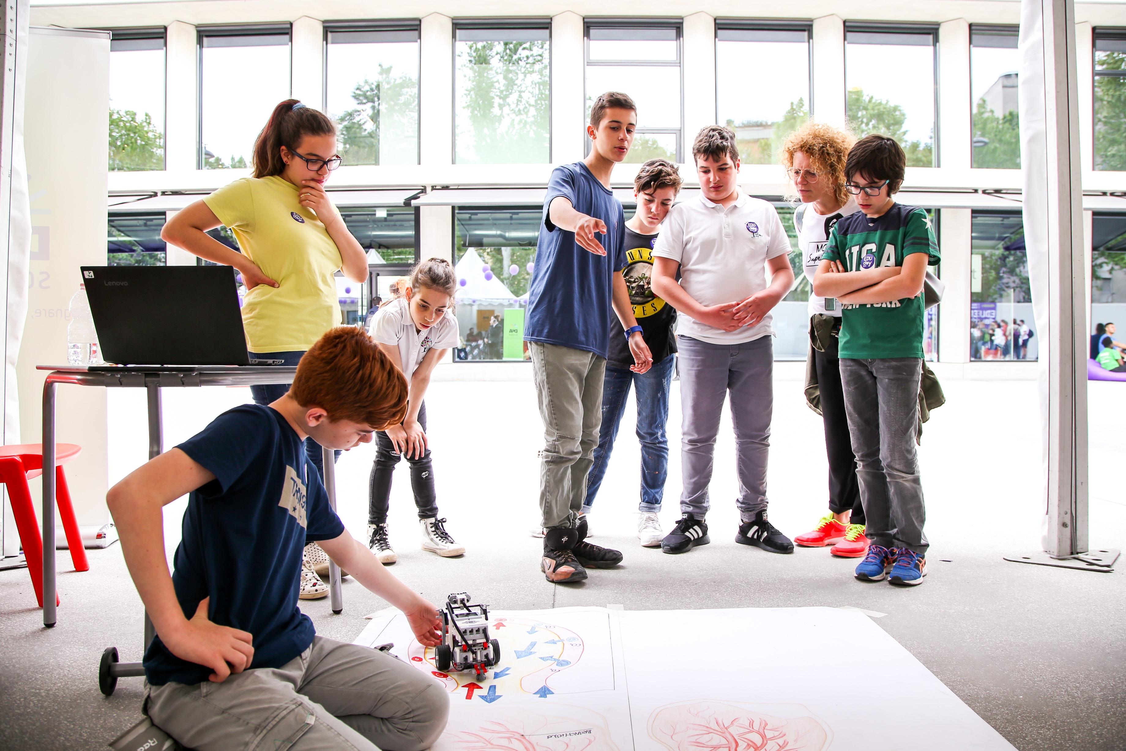 A lezione di robotica