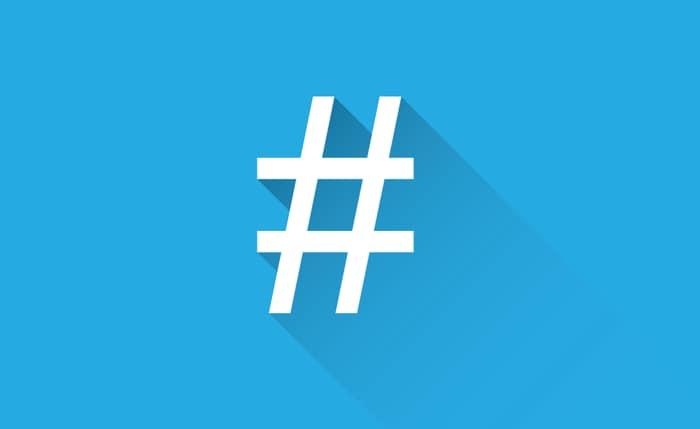 La storia dell'hashtag!