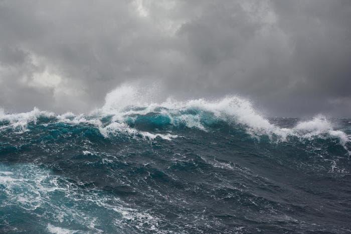 Un'onda da record nell'emisfero australe!