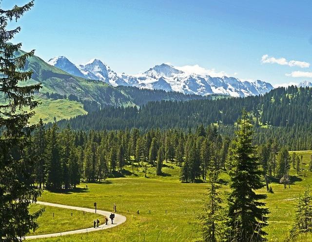 montagna, collina e pianura