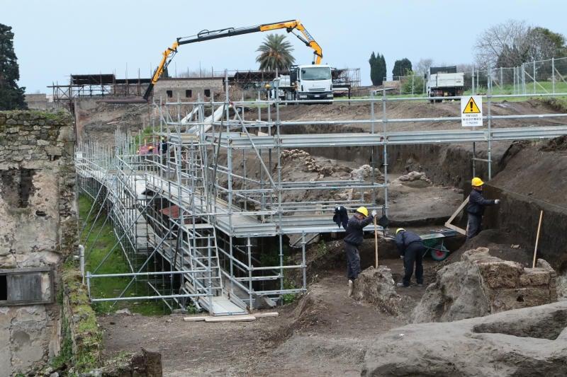Pompei: ritrovato il corpo di un'altra vittima del Vesuvio