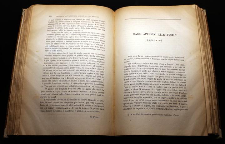Libro Cuore di Edmondo De Amicis: struttura e trama