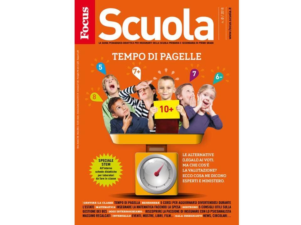 FOCUS SCUOLA: scarica GRATIS la nuova rivista per insegnanti