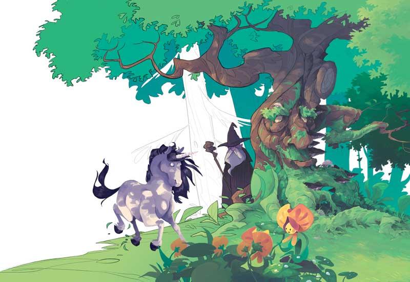 Laboratorio disegno puntata 2: Il bosco incantato