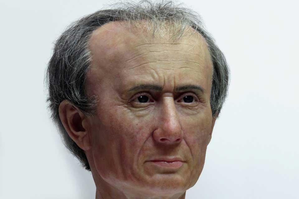 Ricostruito il volto di Giulio Cesare in 3D