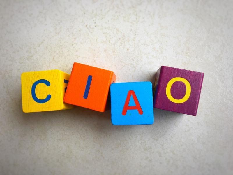 """Buon compleanno """"Ciao"""": il saluto italiano compie 200 anni!"""