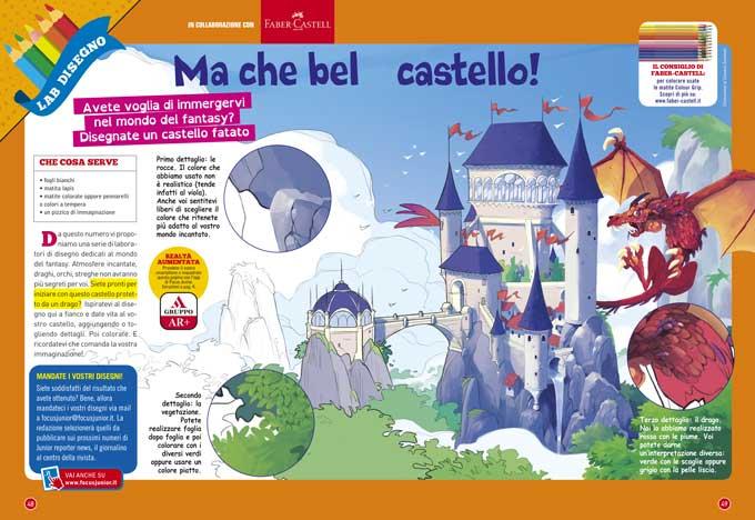 Laboratorio disegno puntata 1: Ma che bel castello!