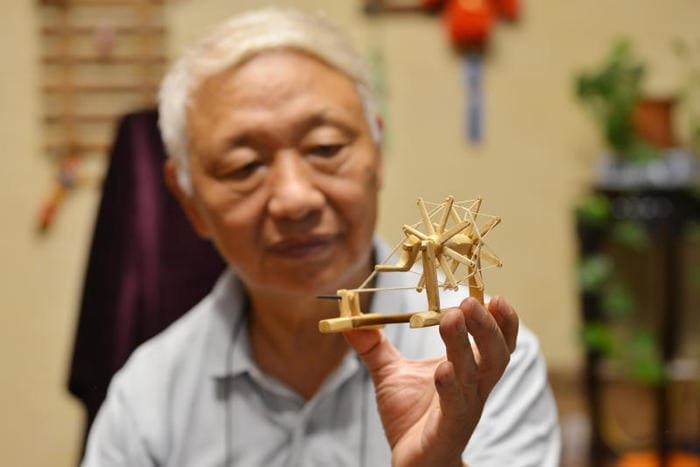 I mobili in miniatura di Chen Hesheng (VIDEO)