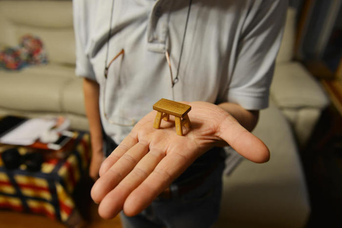 I mobili in miniatura di Chen Hesheng
