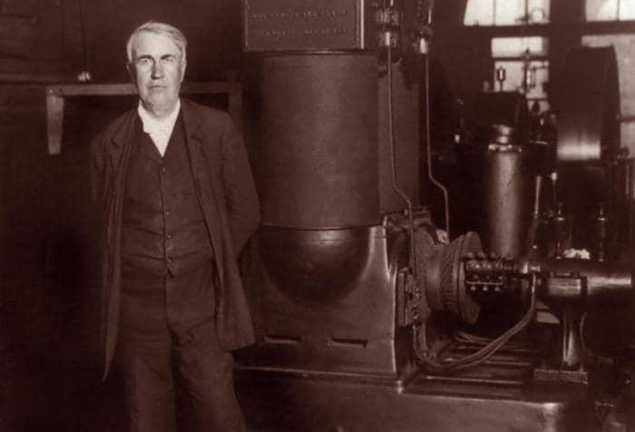 Thomas Edison e Nikola Tesla