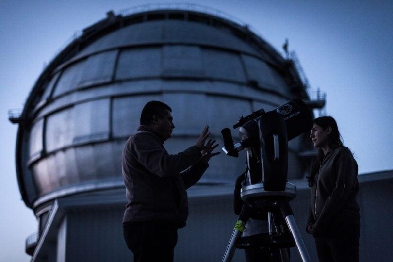 L'eclissi di luna più lunga dal telescopio più grande del mondo