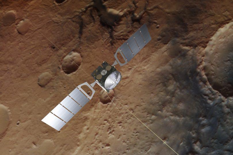 C'è un lago sotterraneo di acqua salata su Marte!