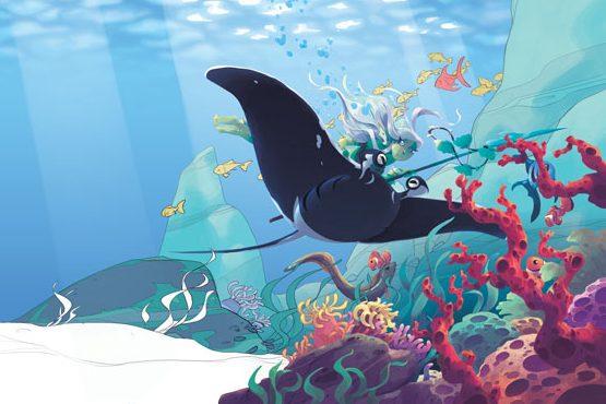 Laboratorio disegno puntata 3: Negli abissi marini