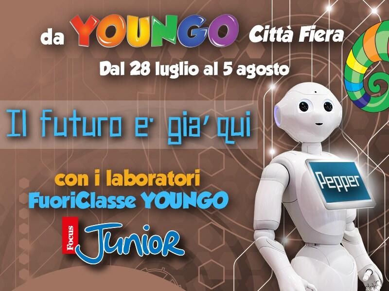 FuoriClasse YOUNGO: Arriva il primo insegnante robot!