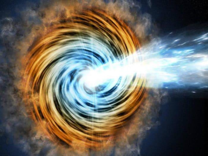 Scoperta l'origine dei neutrini cosmici: è un buco nero!