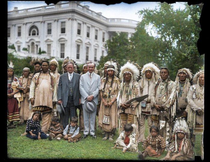 datazione di un indiano uomo in America