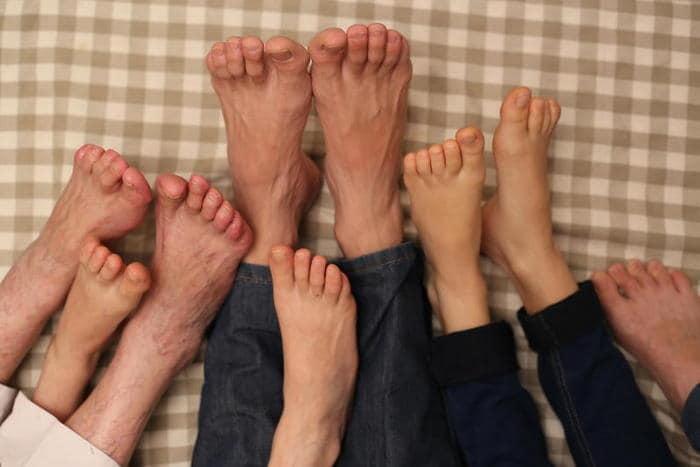 Quali sono i nomi delle dita dei piedi?
