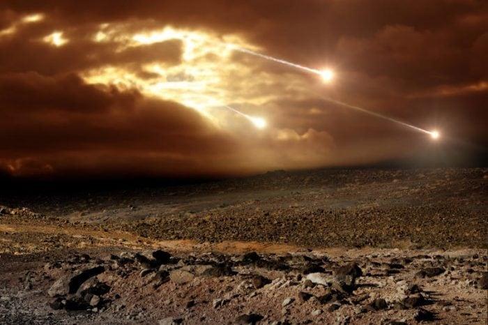 La crosta terrestre è stata formata da una pioggia di meteoriti?