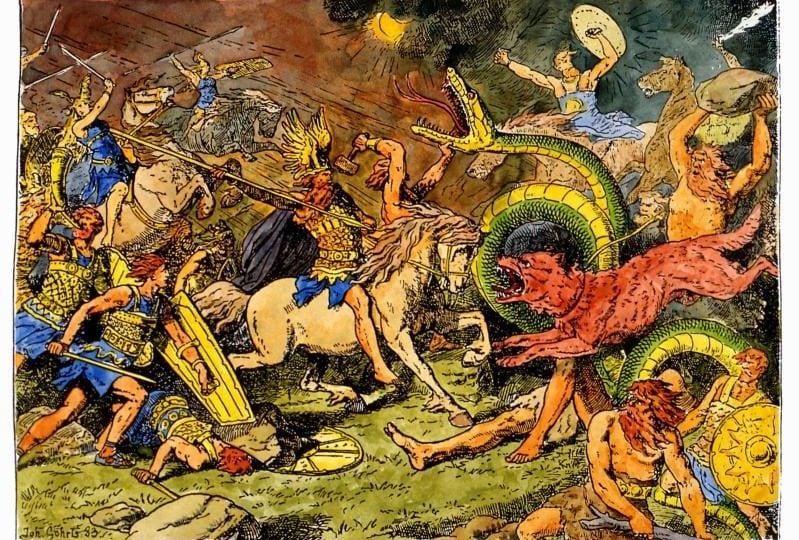 Odino, Thor e tutti gli altri: ecco divinità e creature fantastiche della mitologia norrena