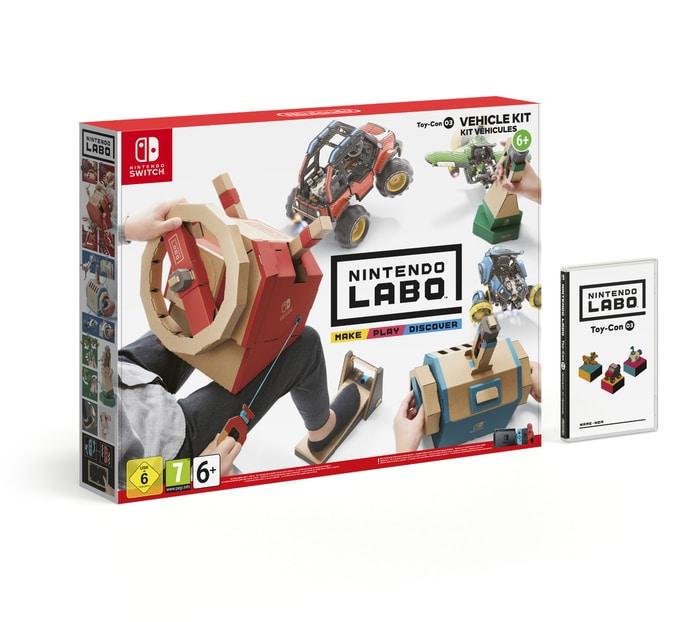 I tuoi giochi prendono vita con Nintendo Labo
