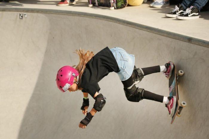 La nuova campionessa tedesca di skateboard ha 11 anni!