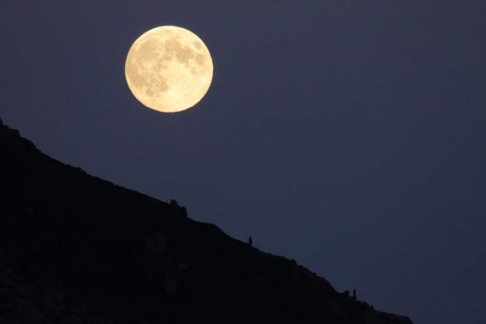 Stasera arriva la Luna del raccolto!