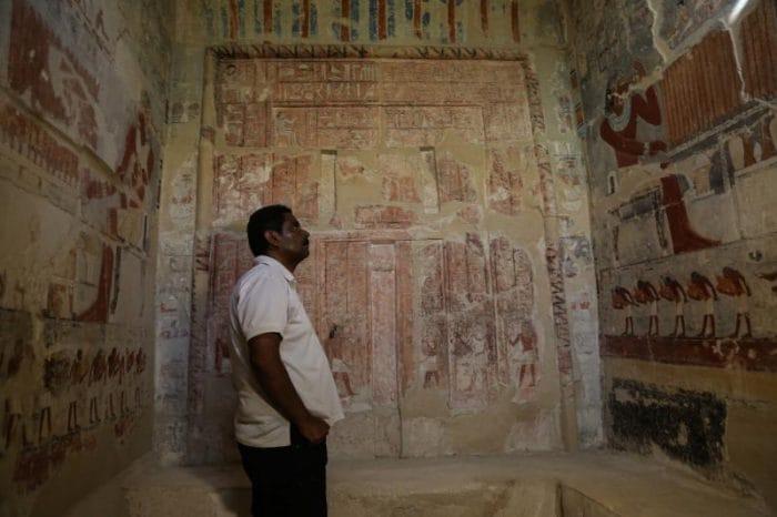 Egitto: aperta al pubblico una tomba di 4000 anni fa!