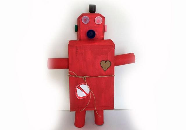 Lavoretto: il robot dei segreti