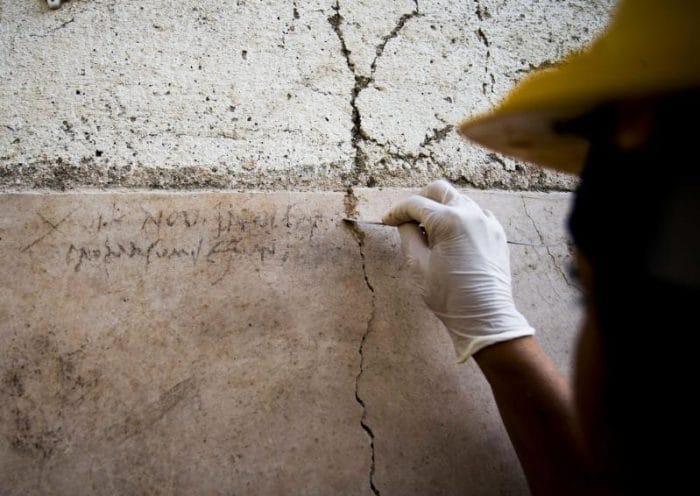Pompei, un'iscrizione cambia la data dell'eruzione che distrusse la città