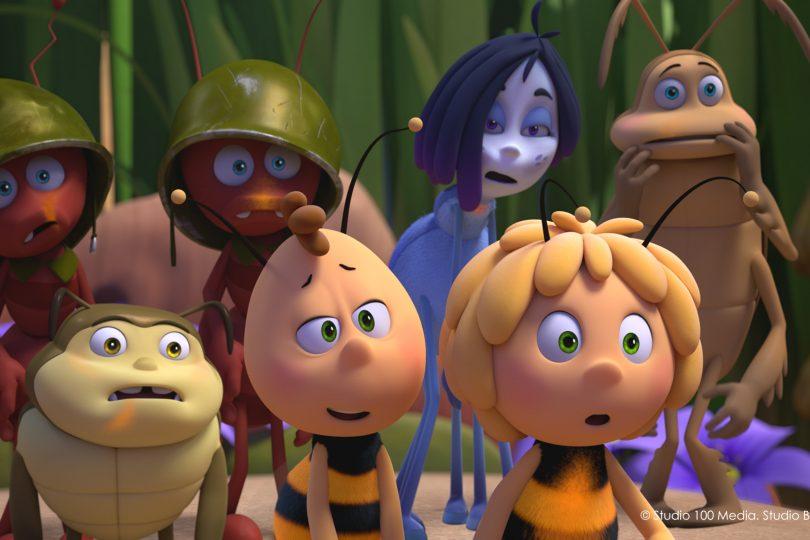 Ape Maia e le Olimpiadi di miele è al cinema